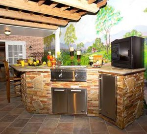 Houston Plumber | Outdoor Kitchens for Water & GasSanthoff Plumbing ...
