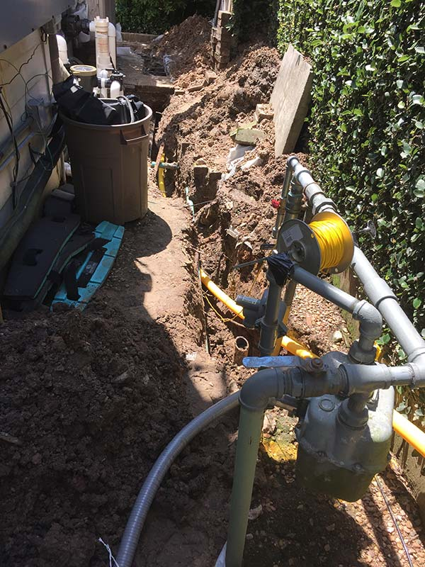 New Gas Line Install