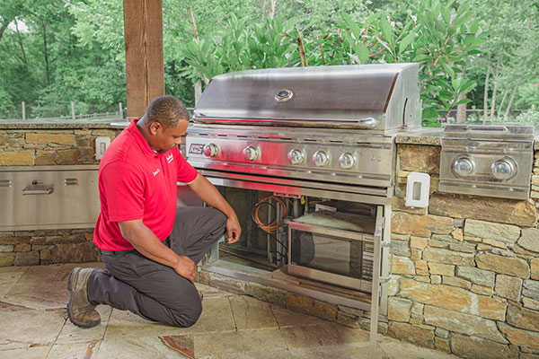 Houston Plumber | Outdoor Kitchens for Water & Gas